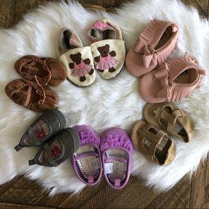 Bundle of Baby Girl Shoes